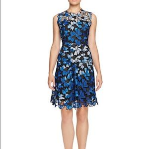 Elie Tahari Kaisa Jewel Neck Cocktail dress